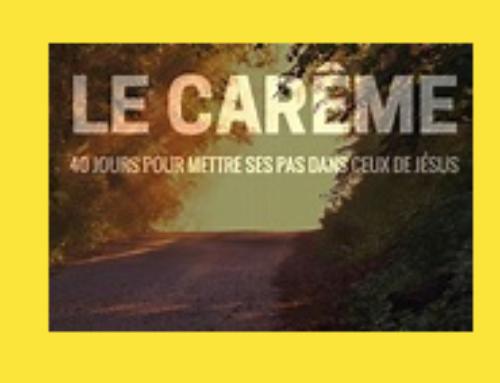 Carême 2018 – Bol de Riz – Chemin de croix – Conférences