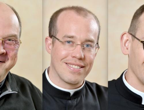 Messe d'installation du père Pascal Monnier, et accueil des pères Yann Deswarte et Mathieu Devred, messes de rentrée