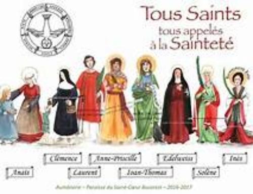 Tous saints avec l'Eveil à la foi – Compiègne