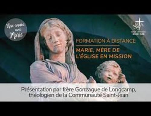 Formation Marie, Mère de l'Eglise en mission
