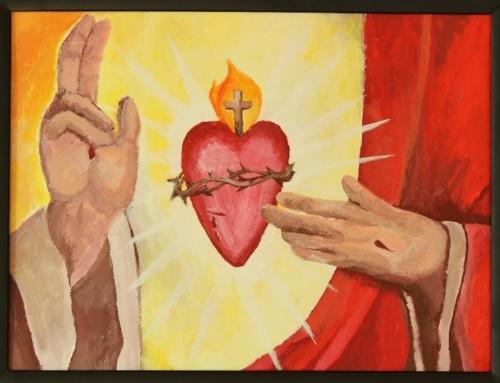 Neuvaine en ligne : Sacré Coeur de Jésus, viens régner dans ma famille
